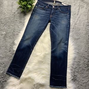 rag & bone • Crop Jean / Santiago Wash
